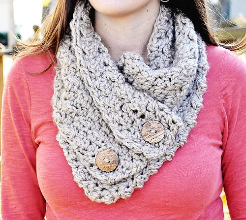 Crochet Patterns Cowl : 00 pacific scarflette cowl pattern buy the pattern and the yarn ...