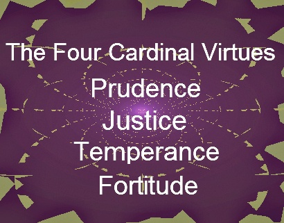 holy spirit the 4 cardinal virtues