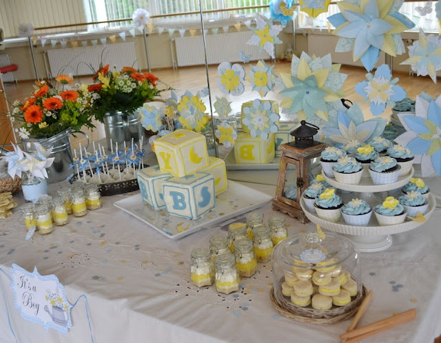 baby boy shower dessert table magical party tables treat cake