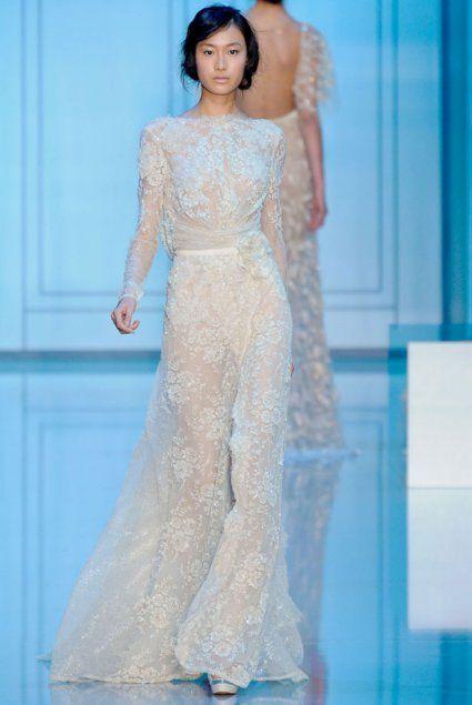 Les plus belles robes de mariée Haute Couture Automne Hiver 2012