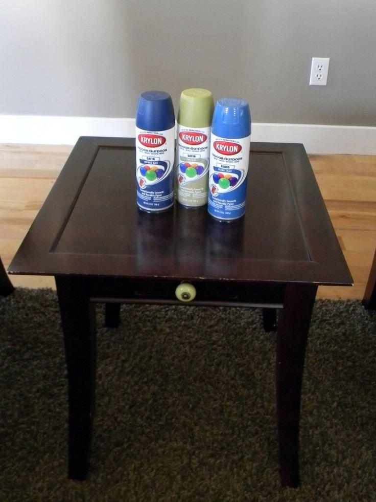 spray painted furniture 027 spray paint pinterest. Black Bedroom Furniture Sets. Home Design Ideas