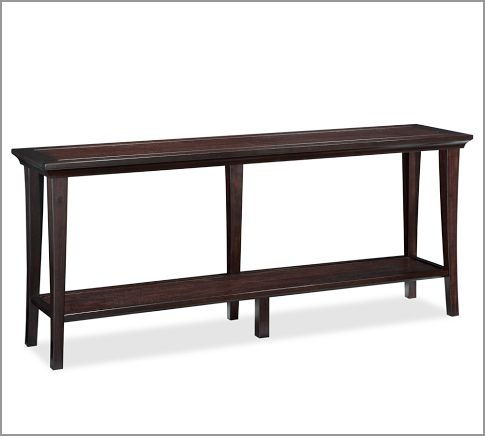 Long Console Table : Metropolitan Long Console Table, Espresso Stain $399 72