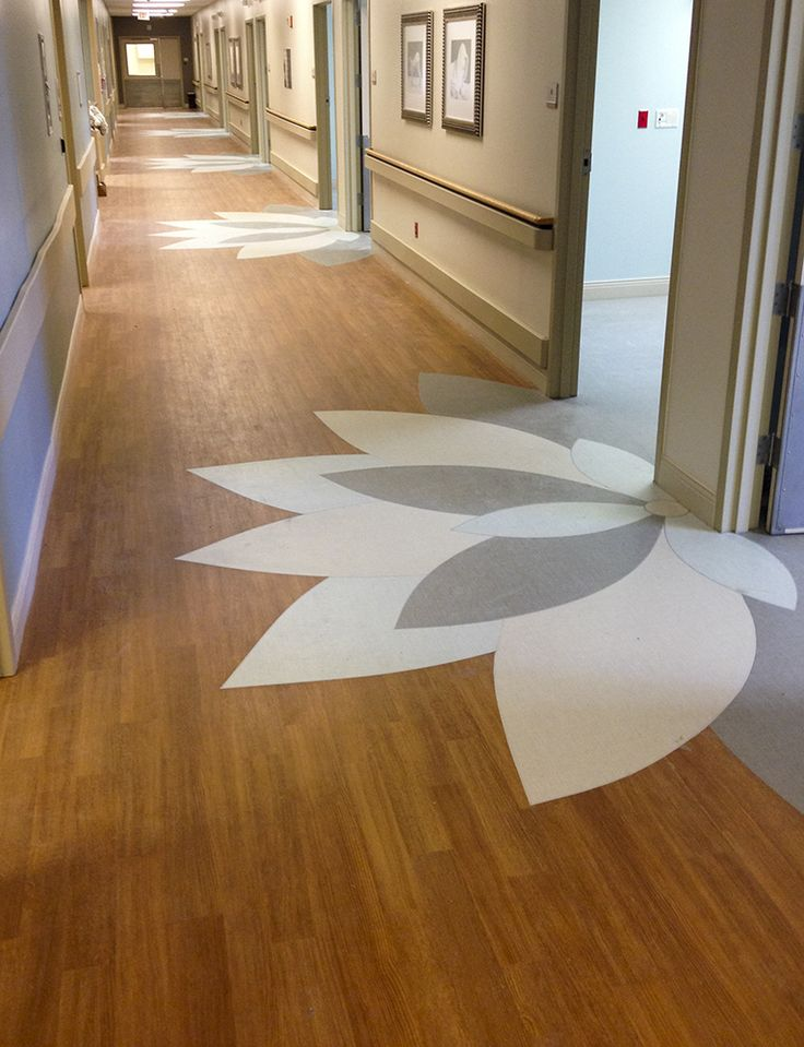 Flooring patterns corridor