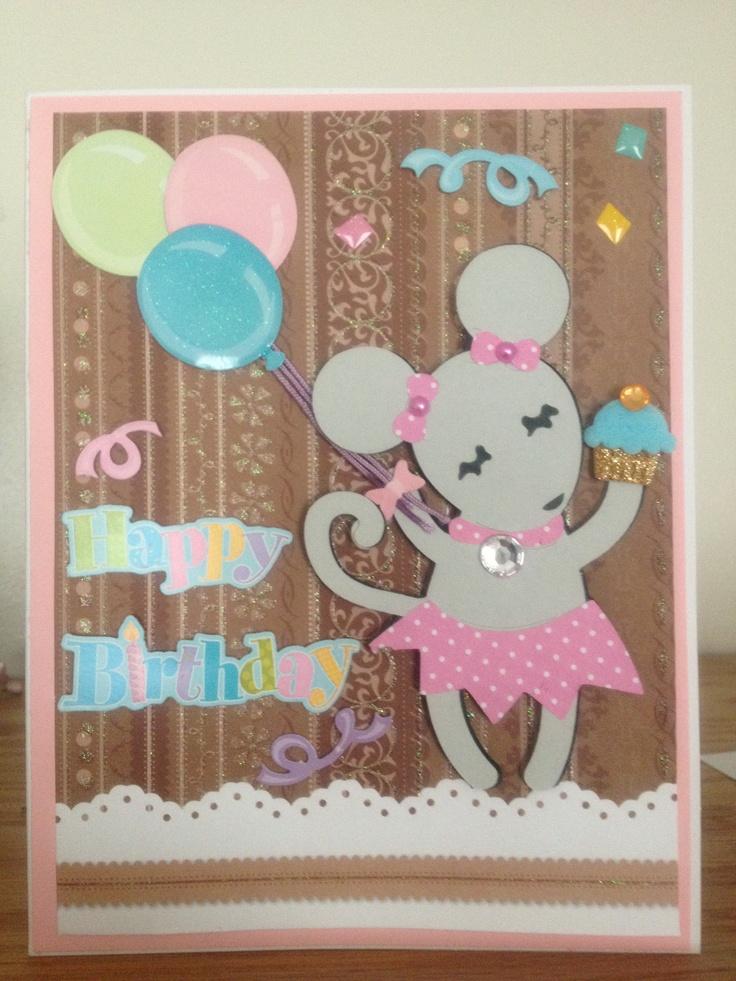 Birthday card cricut cards pinterest