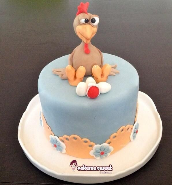 Easter Chicken Fun Cakes & Cupcakes, Cookies and Cake ...