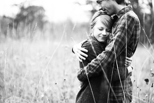 Autumn engagement session by Rivets and Roses Photography. #wedding #Minnesota