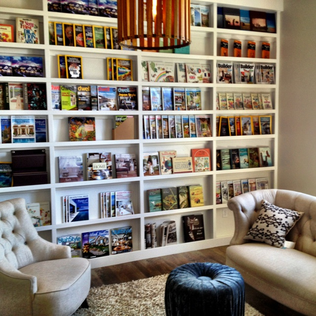 Library Reading Room Living Room Decorating Ideas