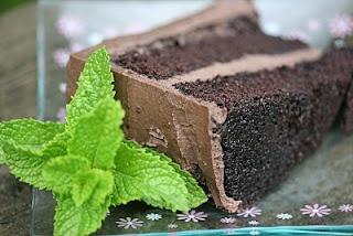 Coffee Chocolate Layer Cake with Mocha Mascarpone Frosting.