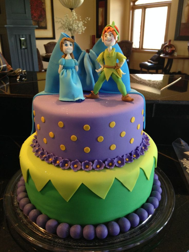 peter pan themed baby shower cake miss scarlets 39 baby shower pin