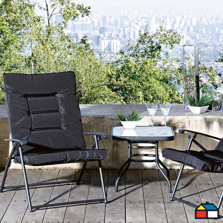 Comodidad al aire libre terraza maria eugenia dagnino for Sodimac terrazas