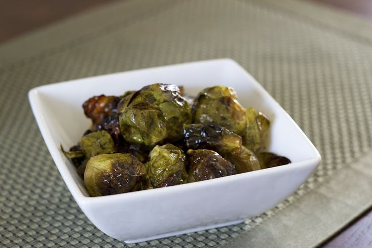 Roasted Brussels Sprouts With Bacon, Pecans And Maple-Balsamic ...