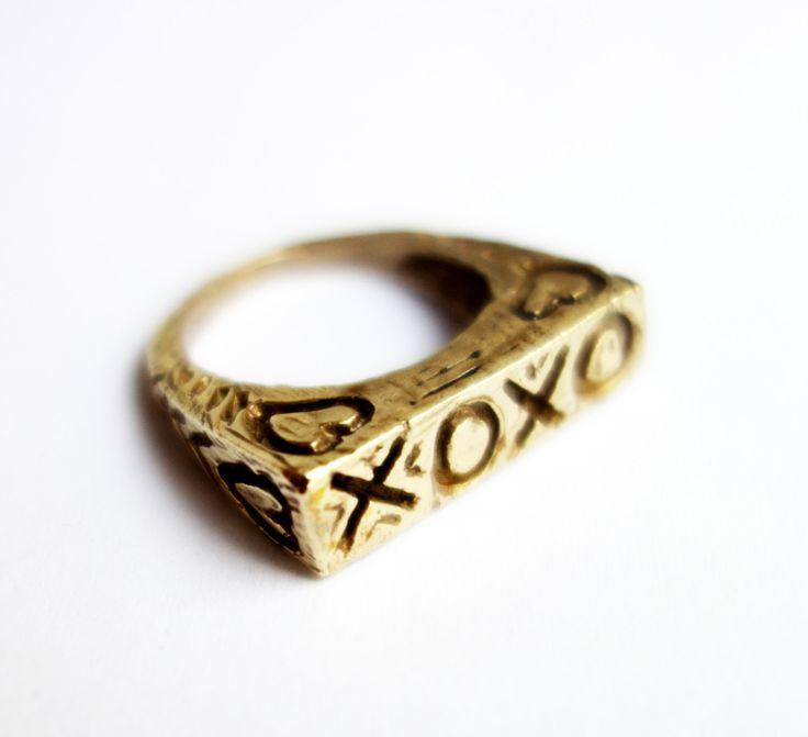 valentine ring bling craft
