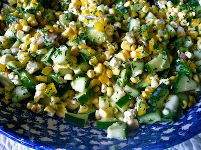 ... Kitchen: Dilled, Crunchy Sweet-Corn Salad with Buttermilk Dressing
