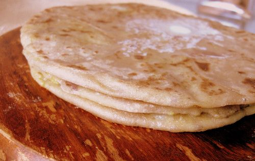 Aloo Paratha (Indian Potato Bread) Recipe — Dishmaps