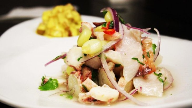 Mixed Seafood Ceviche Recipe | Yummy Foods | Pinterest