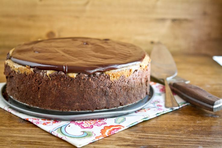 Chocolate Covered Espresso Cheesecake Recipe — Dishmaps