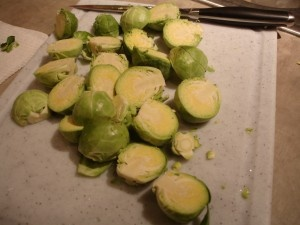 Golden Crusted Brussels Sprouts | Gluten Free for Me! (and the rest o ...