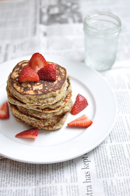 Lemon Poppy Seed Pancakes | Time to hit the Kitchen! | Pinterest