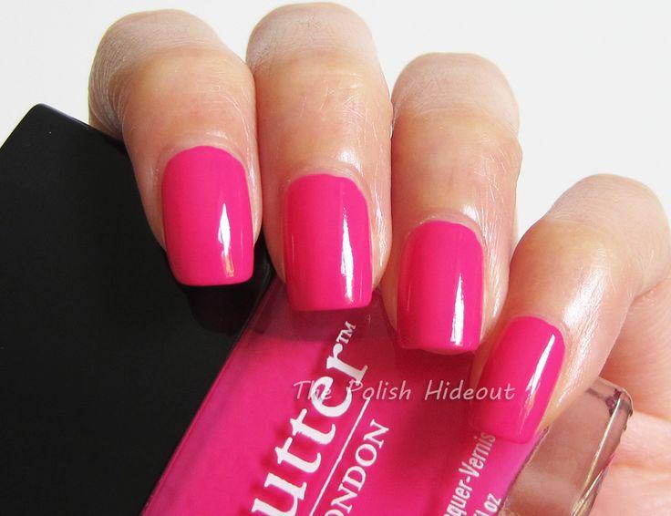 black valentine nails
