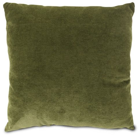 Big Throw Pillows For Couch : Large Throw Pillows-Moss Micro Velvet