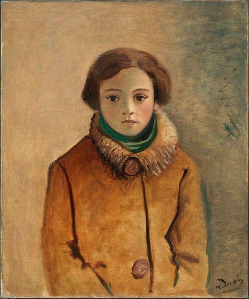 Genevieve Taillade in an Orange Jacket 1928André Derain