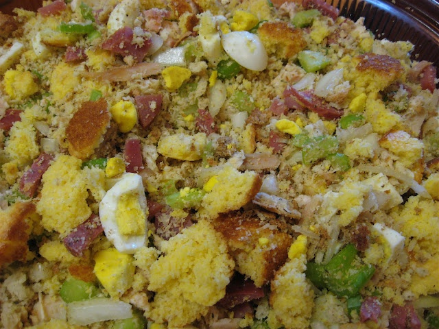 Southern Style Cornbread Dressing | Food & Drinks | Pinterest