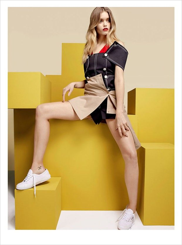 Abbey Lee Kershaw Teams Up With Superga