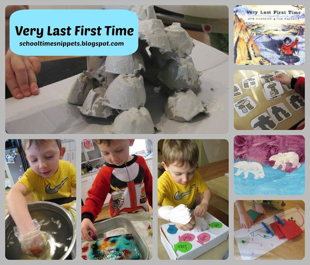 Very Last First Time.  Full of Arctic activities; blubber science, sight word fishing, art, and an egg carton igloo!