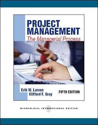 larson gray project management Find 9780078096594 project management : the managerial process by gray et al at over 30 isbn 9780078096594 project management : project management by larson 6th.