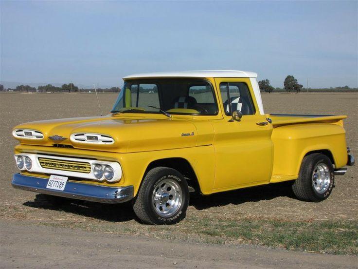 1961 chevrolet apache 10 stepside pickup