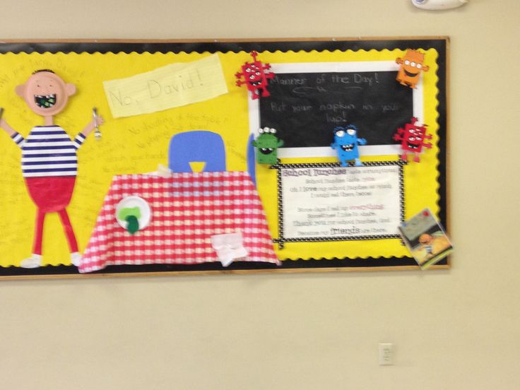 bulletin board cafeteria ideas | just b.CAUSE