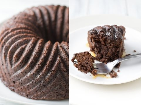 Chocolate Ginger Cake with Bourbon Butter Caramel Sauce (from Sugar ...