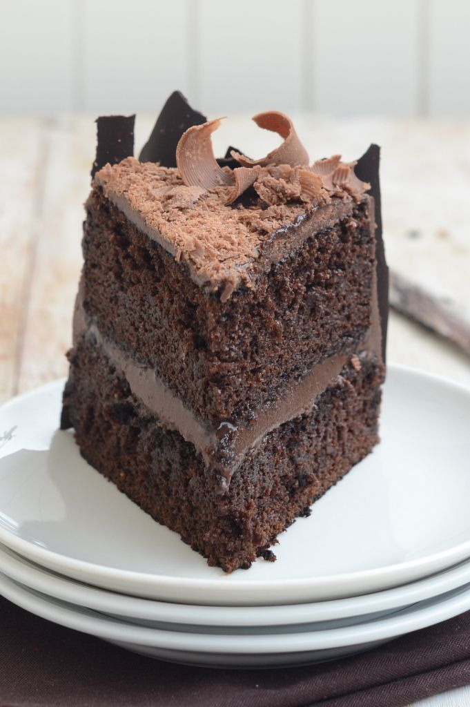 Suzanne's Chocolate Cake Recipe — Dishmaps