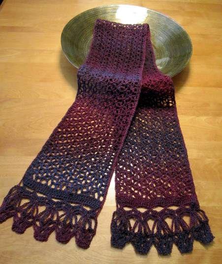 Pin by Doris Moudy on Crochet Scarfs/Neckwarmers Pinterest