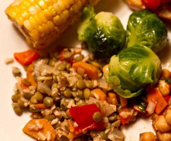 lentil rice casserole | Savoury | Pinterest