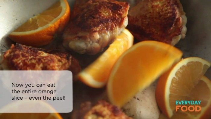 Orange Balsamic Chicken | Every Day Food with Sara | Pinterest