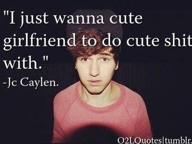Jc caylen dating history