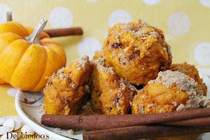 Pumpkin cinnamon streusel muffins…Betty Crocker cinnamon streusel ...