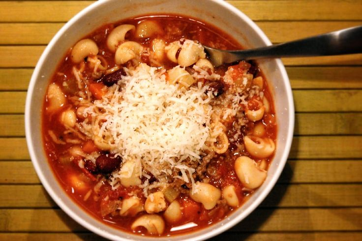 Pasta e fagioli (italian bean and pasta) soup | Recipe