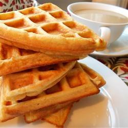 Cinnamon Belgian Waffles Allrecipes.com | Brunch | Pinterest