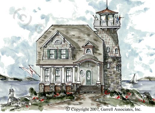 lighthouse home plan fairytale cottages pinterest