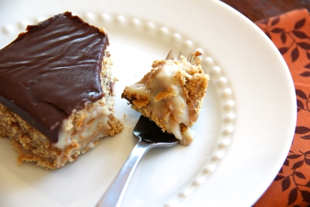 Boston Ice Cream Pie Cake Recipe — Dishmaps