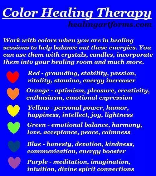 Color Chakra Therapy