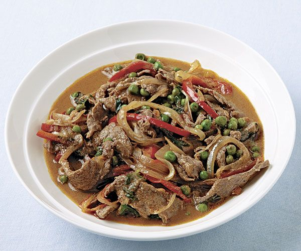 Panang Curry Beef with Basil | Recipe