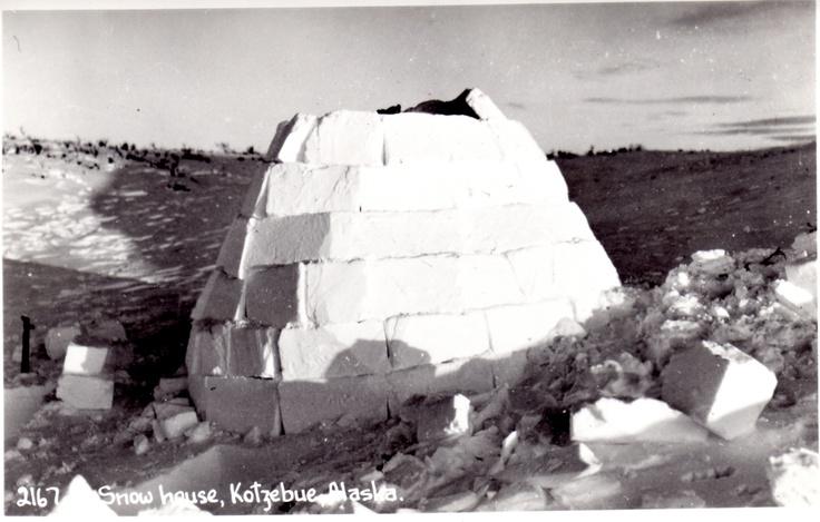 Vintage photo igloo ice alaska vintage photos - Igloo vintage ...