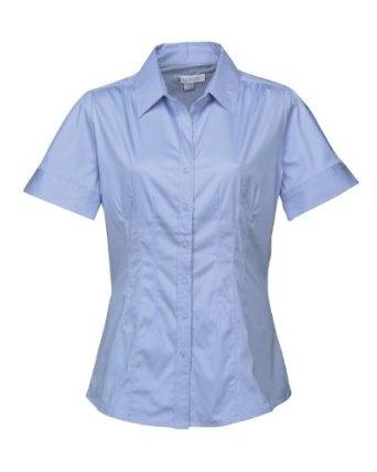 Cheap Tri-Mountain Women's Ruching Shoulders Stylish Woven Shirt