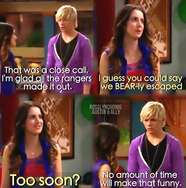 austin and ally dating again quotes