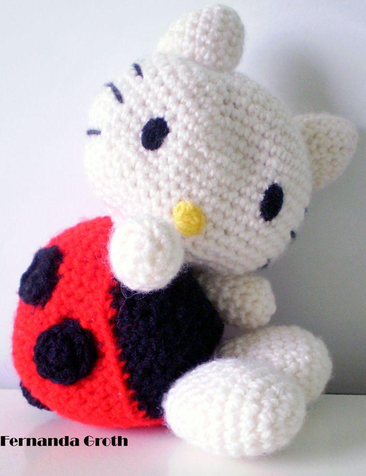 Tuto Gratuit Amigurumi Hello Kitty : Hello Kitty Amigurumi amigurumis Pinterest