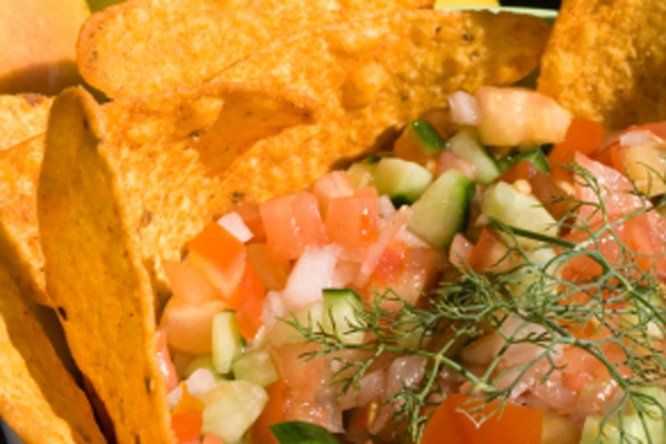 Crunchy Layered Taco Salad | Salads..Dressings & Sauces, Herbs, spice ...