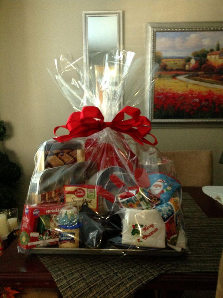 Bridal shower baking gift-